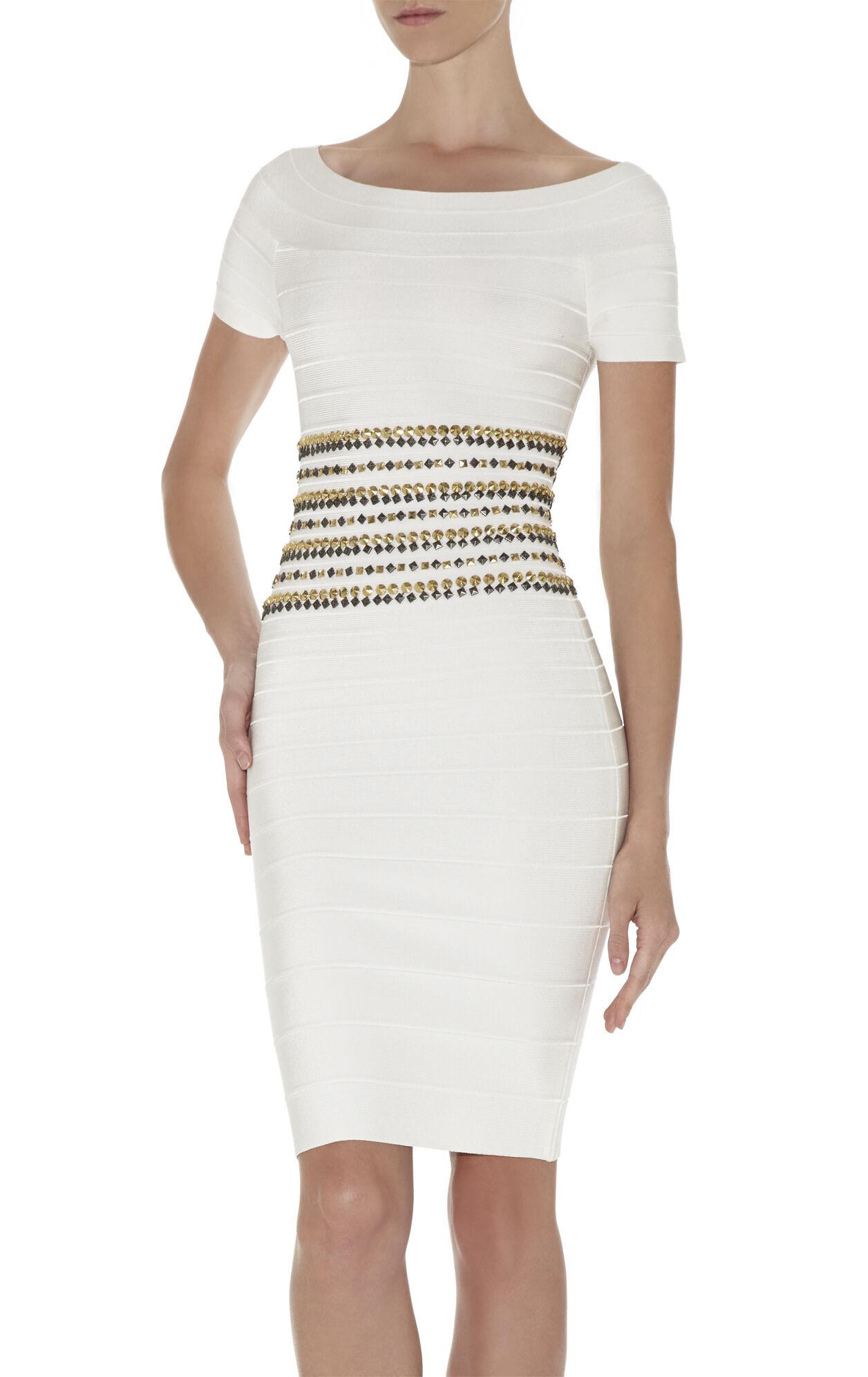 Carmen Studded-Detail Dress