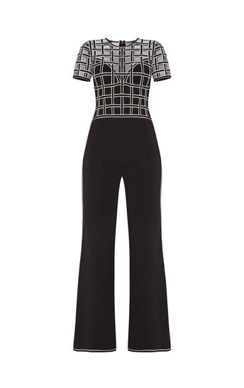 Marianna Caged Mesh Jumpsuit