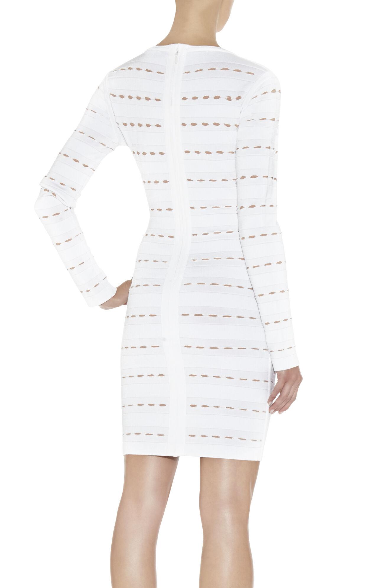 Elaine Eyelet-Detail Dress