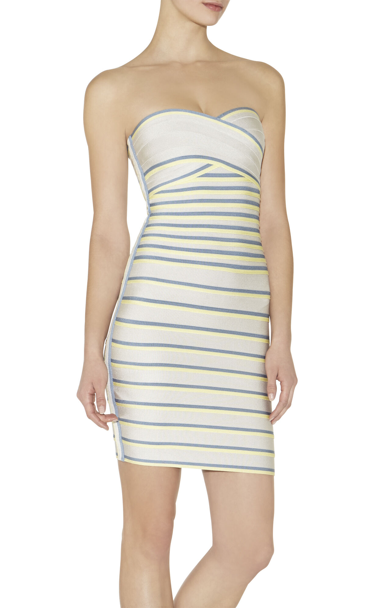 Izzi Multi-Colorblocked Dress