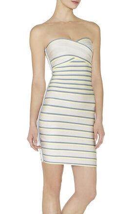 Izzi Multi-Colorblocked Dress