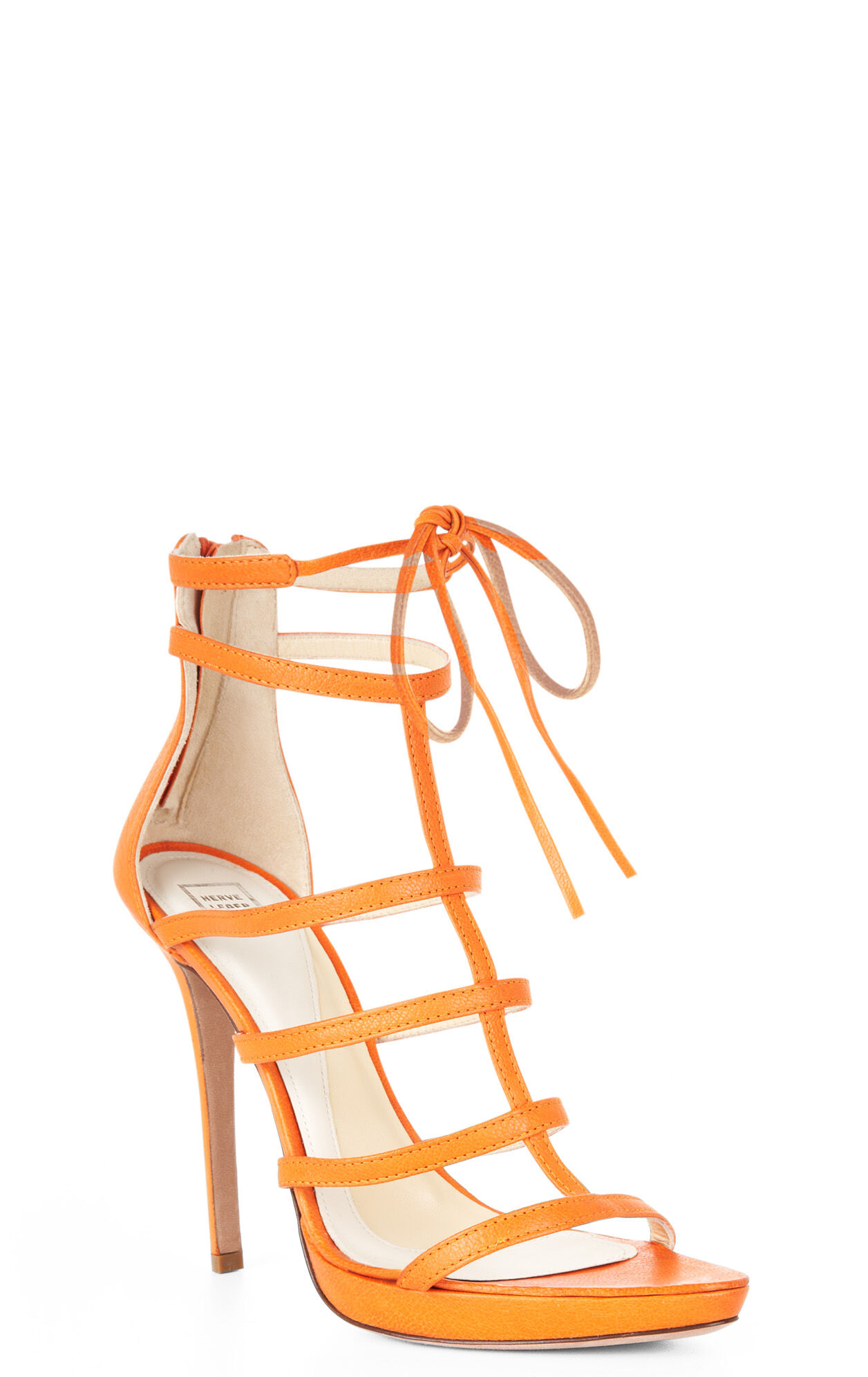 Talor High-Heel Leather Sandal