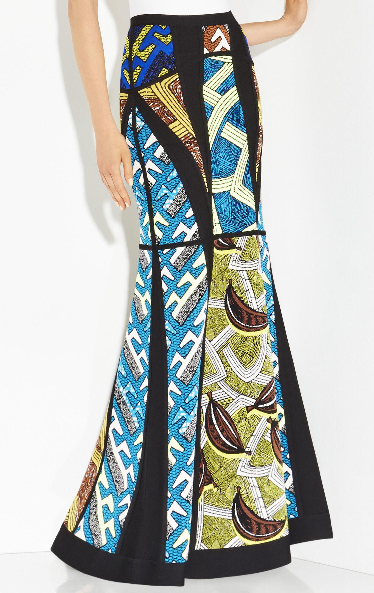Nolena Tribal Jacquard Skirt