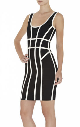 Mae Border-Banding Dress