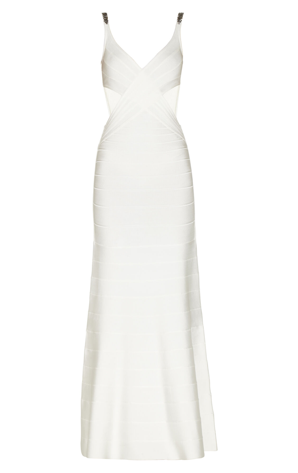 Natasha Jewel Beaded Gown