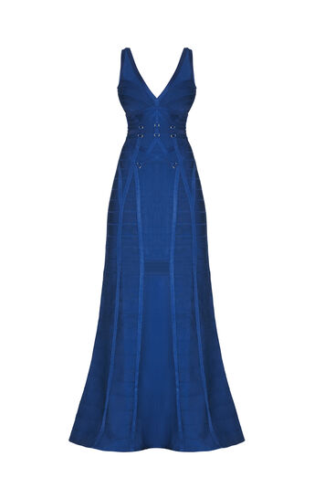 Celestina Ribbon Bandage D-Ring Gown