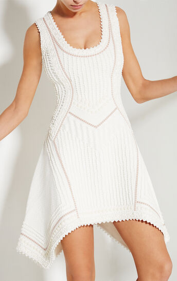 Kyra Origami Bead Knot Detail Dress