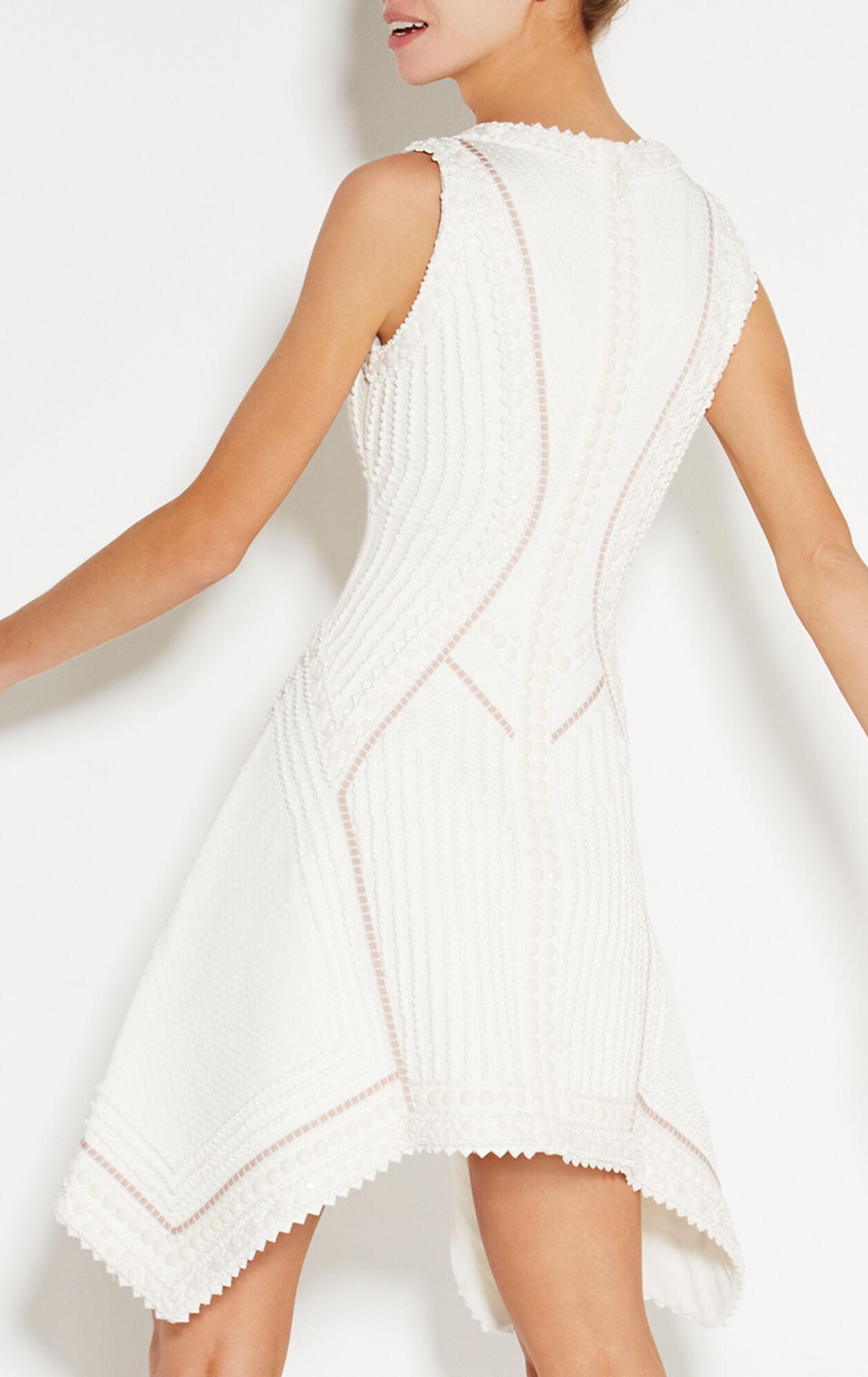 Kyra Origami Bead Knot Detail Dress