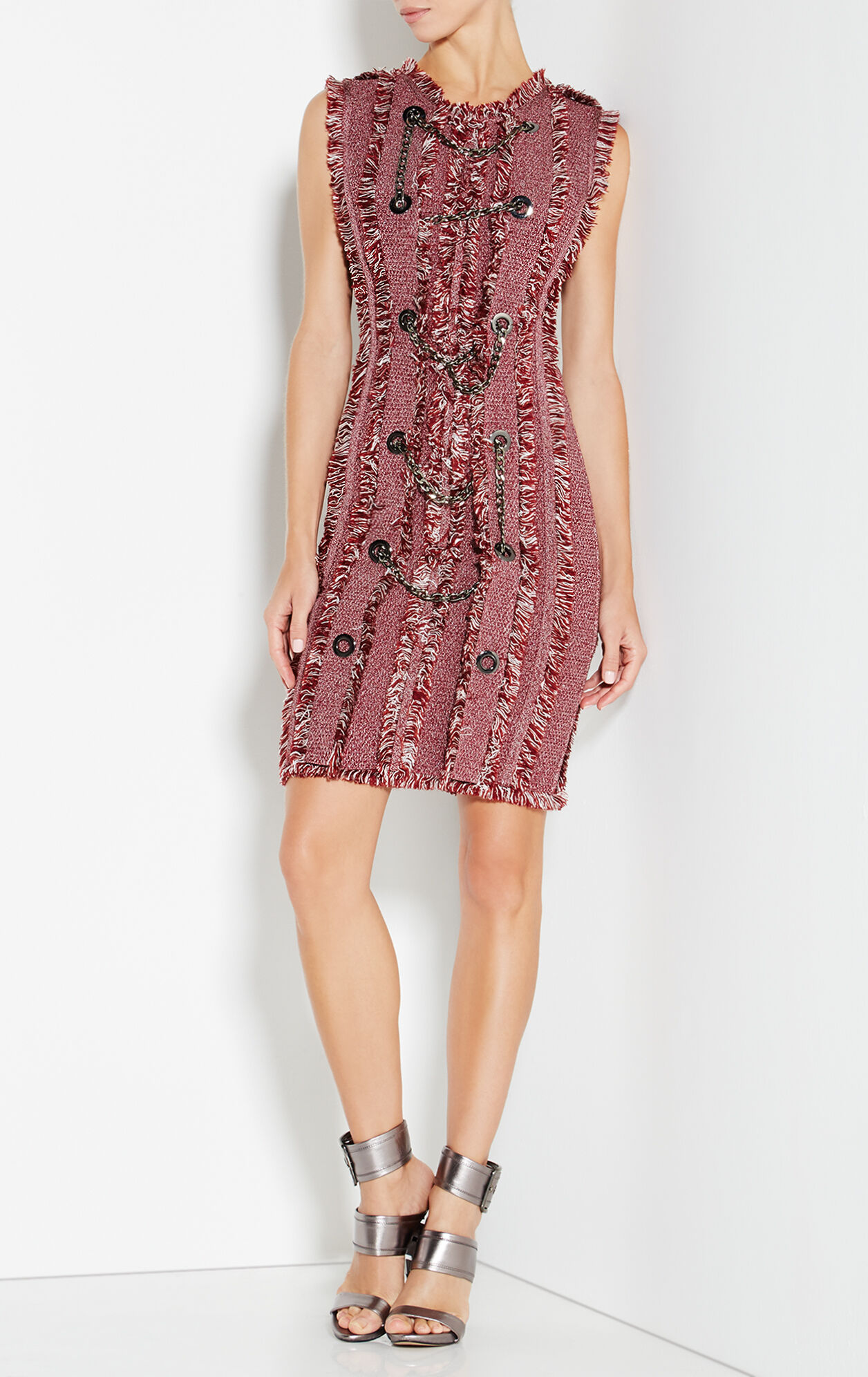 Lucinda Marled Sheath Dress