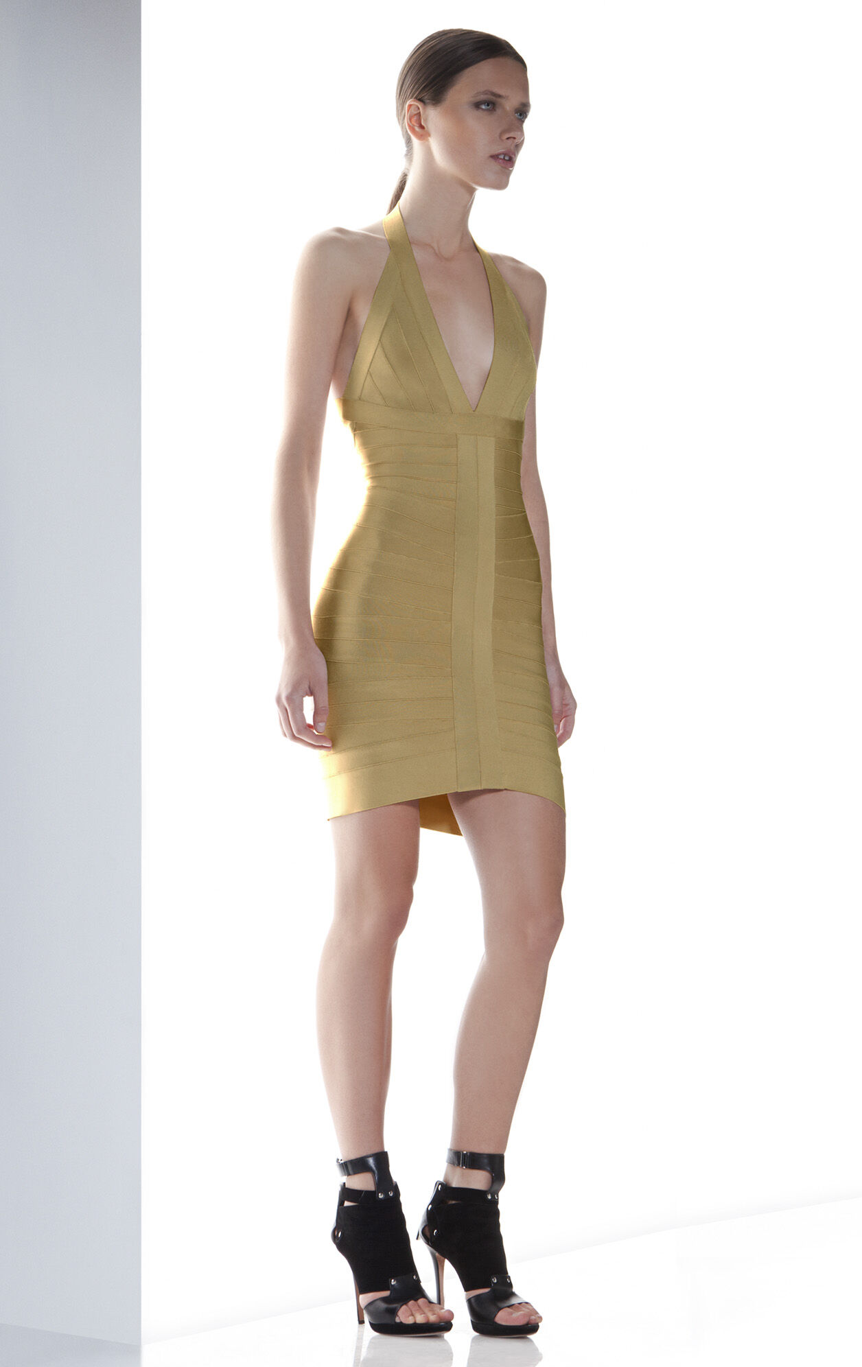 LILOU BANDAGE DRESS
