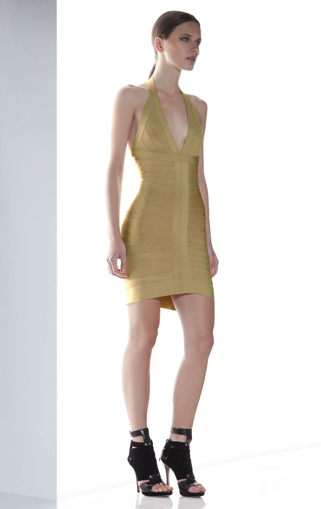 LILOU BANDAGE DRESS