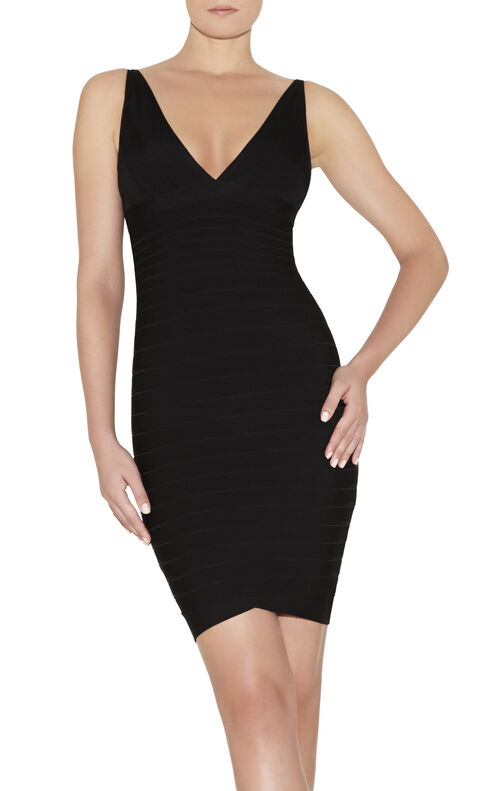Nadya Novelty Essentials Bandage Dress