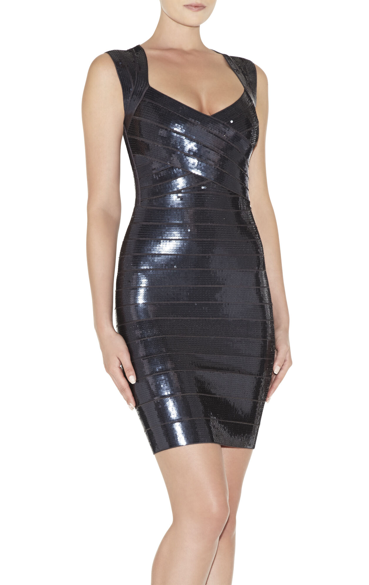 Sarai Sequined Dress