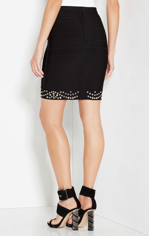 Luna Multi-Eyelet Skirt