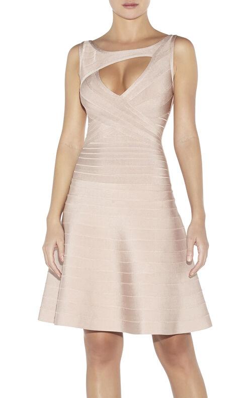 Lelah Novelty Essentials Bandage Dress