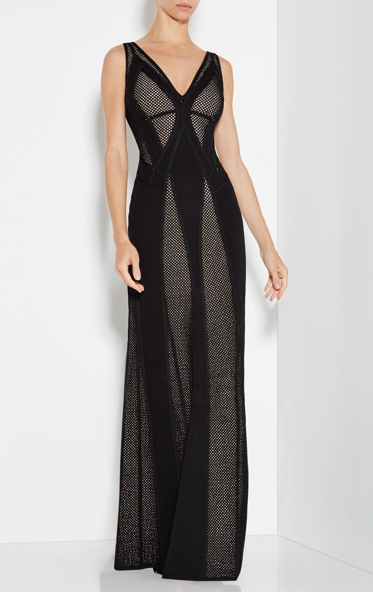 Lena Plaited Mesh Ring Detail Dress