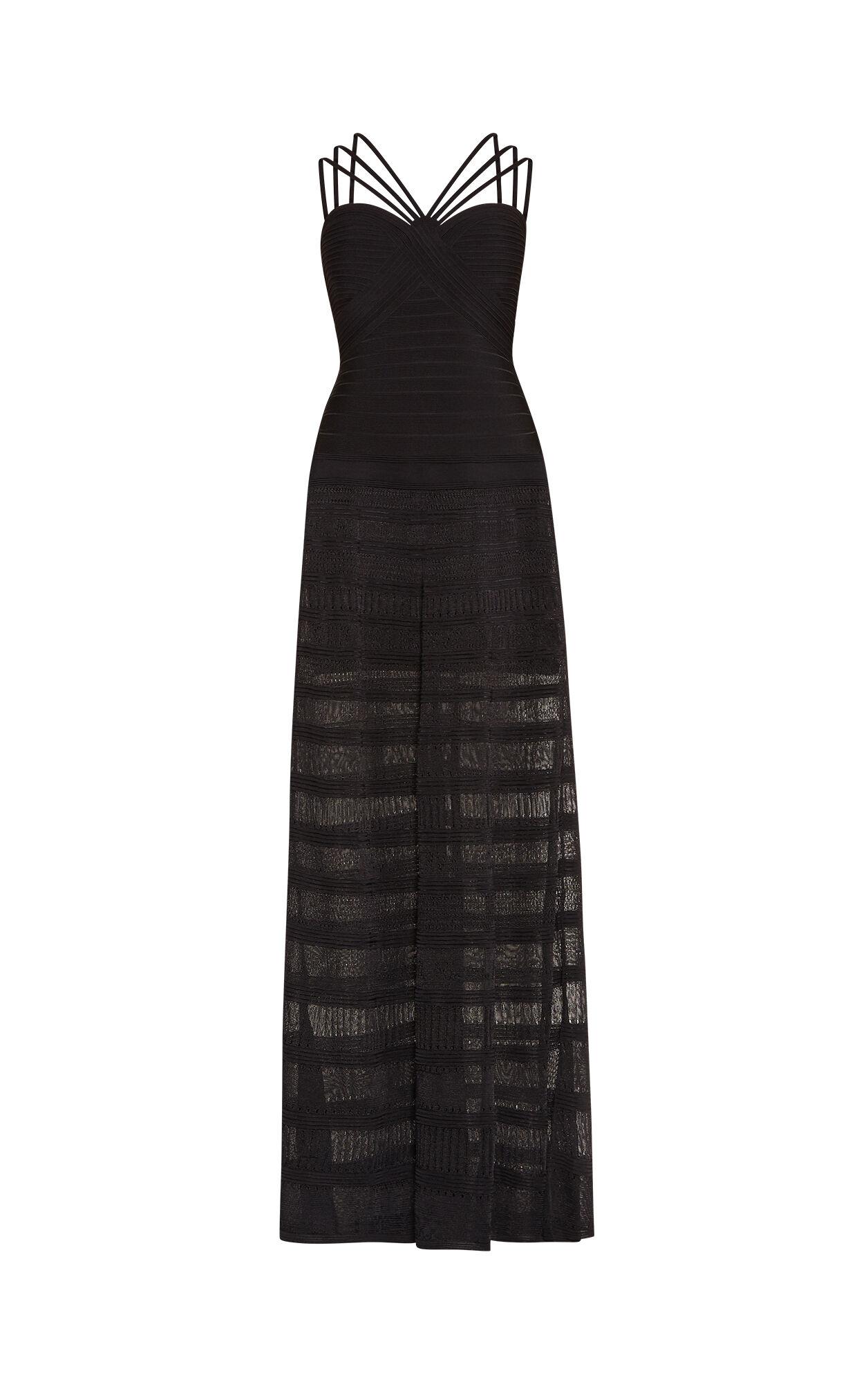 Waverly Pointelle-Trim Bandage Gown