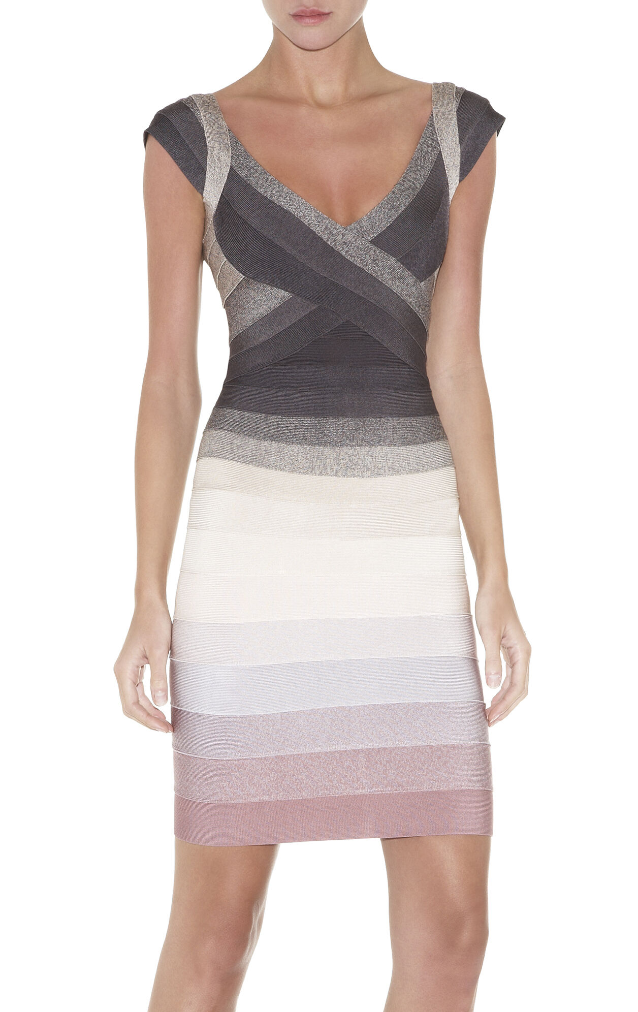Nannette Ombre Bandage Dress