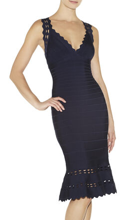 Isabella Cutout Bandage Dress