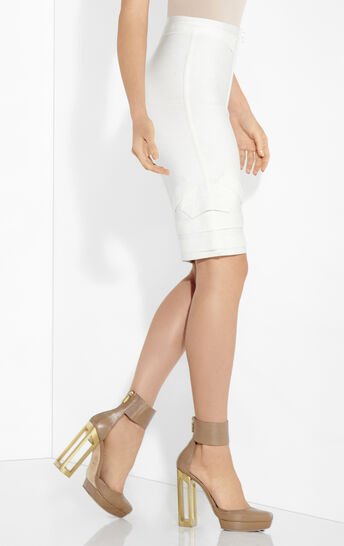 Maddison Origami Folding Detail Skirt