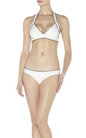 Milou Tipped Scalloped-Edge Bikini