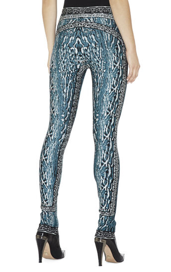 Zimmer Ocelot And Antique-Lace Jacquard Pant