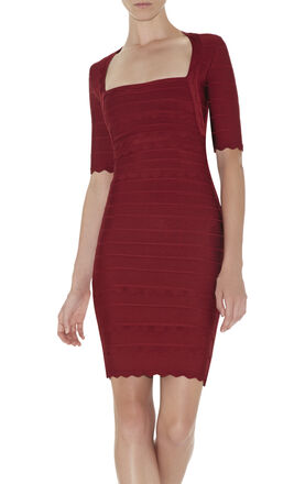 Melissa Scalloped Dress