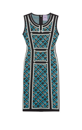 Tanya Jacquard Dress