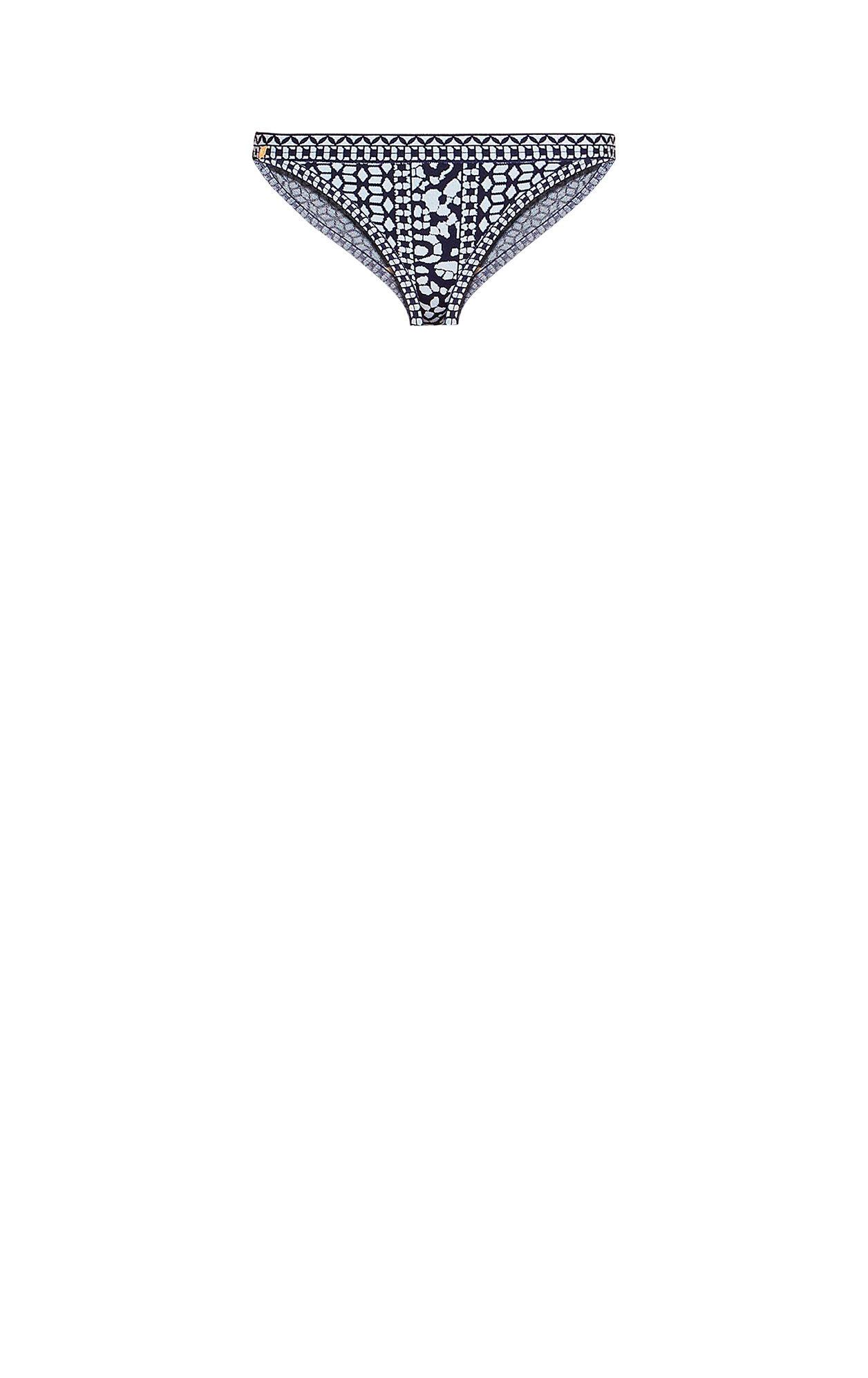 Aylin Floral Diamond Jacquard Bikini Bottom
