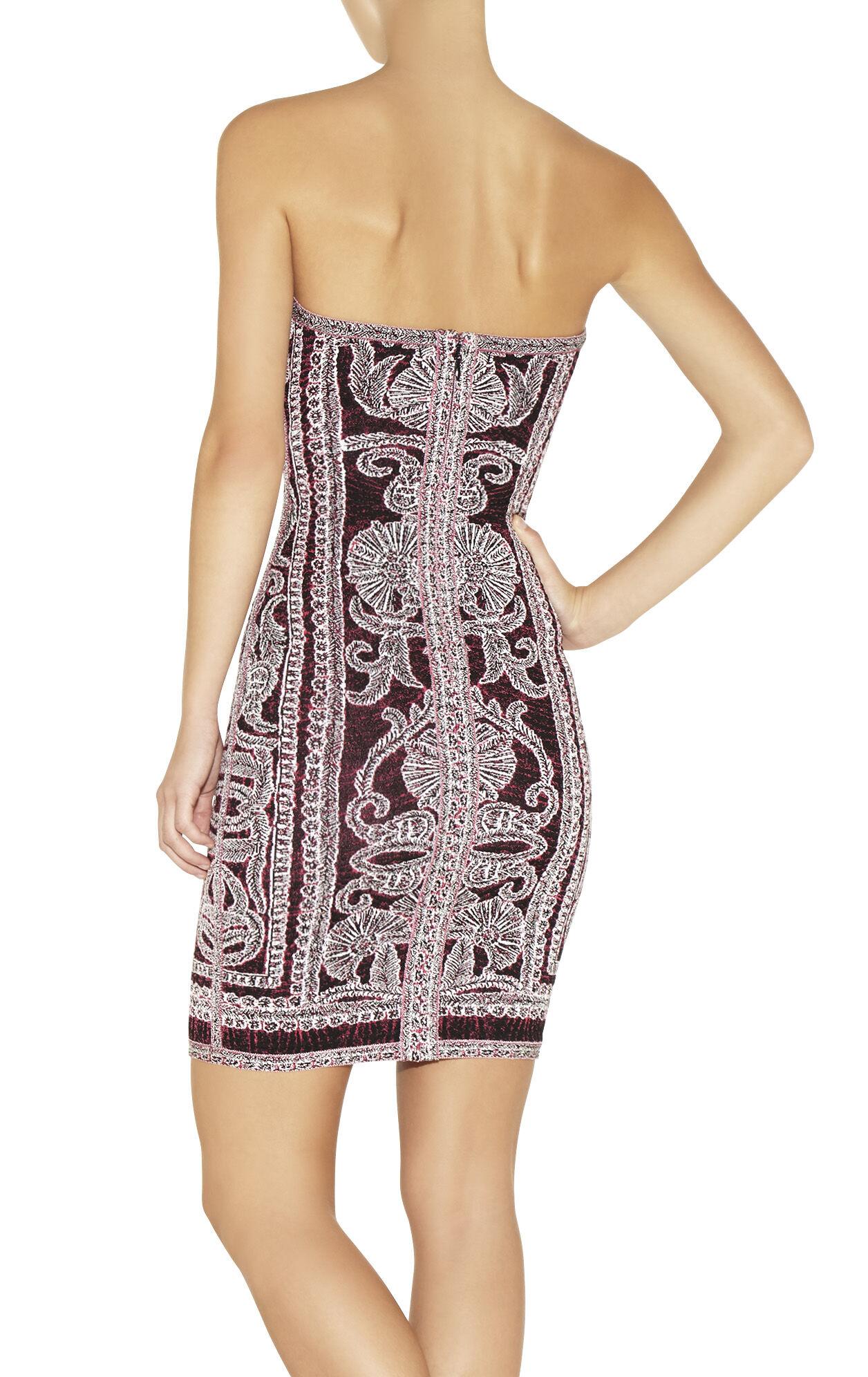 Vivien Bohemian Floral Jacquard Dress