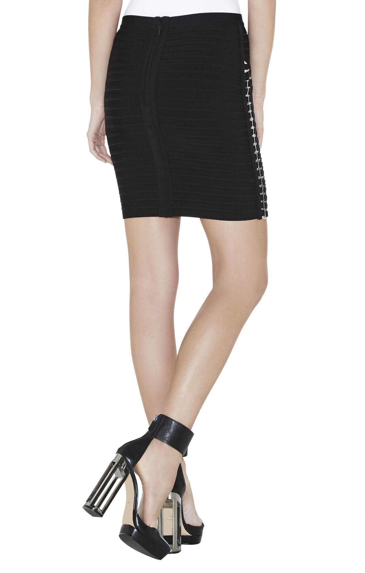 Julia Metal-Hardware Detailed Skirt
