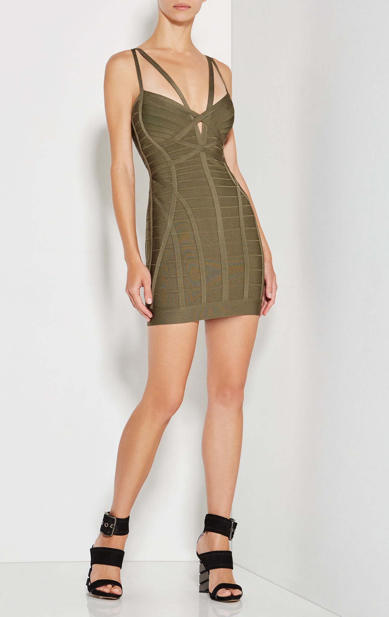 Nuria Cutout Novelty Essentials Dress