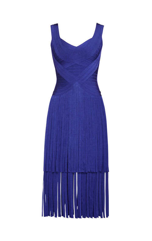 Kairi Fringe Bandage Dress