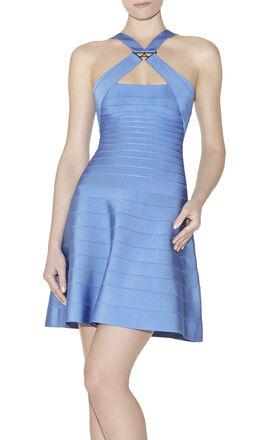 Alyia Hardware-Detailed Dress