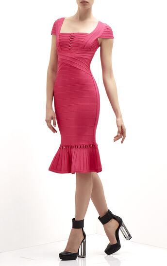 Muriel Twist Detail Bandage Dress