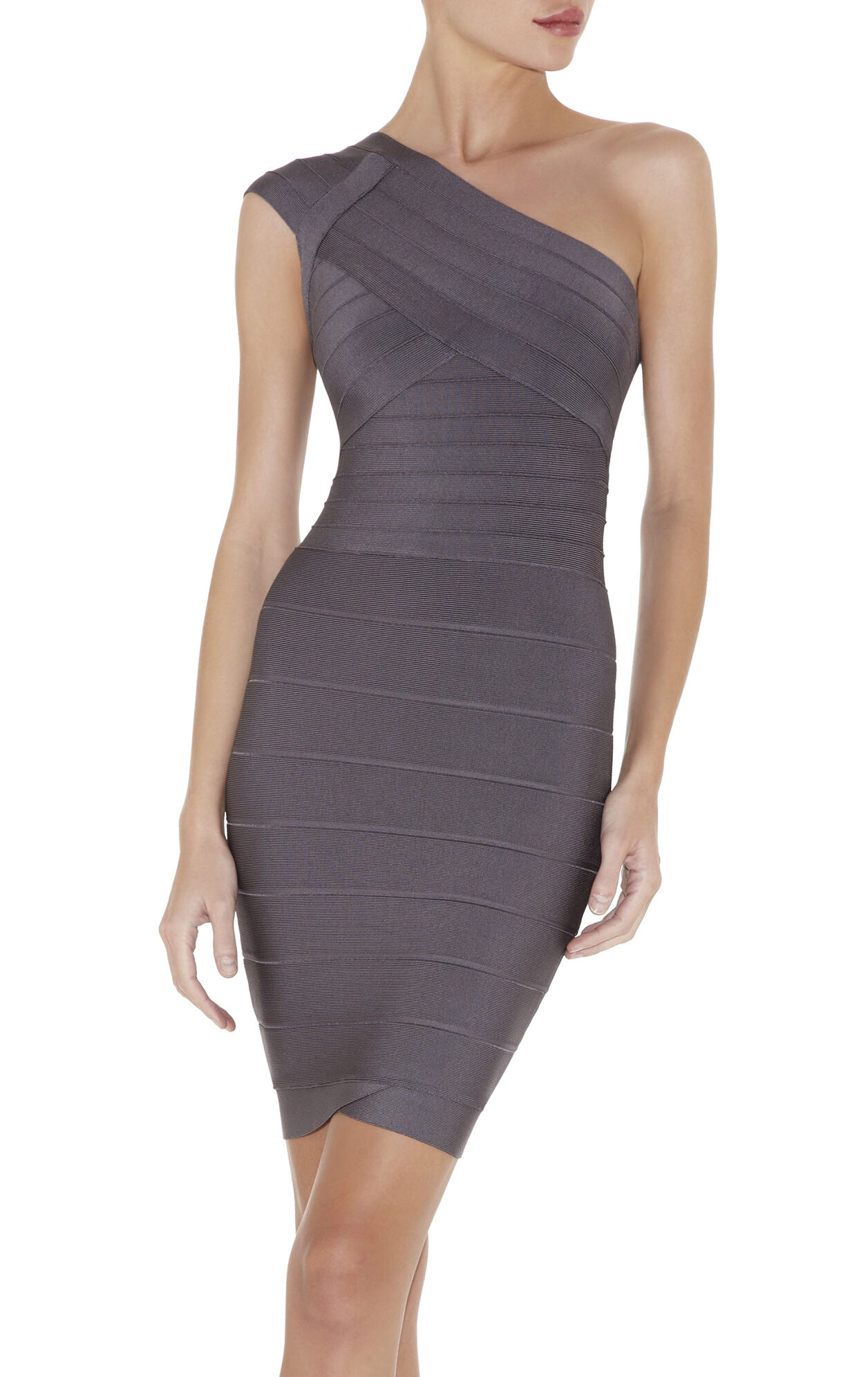 Jessamine Signature One-Shoulder Bandage Dress