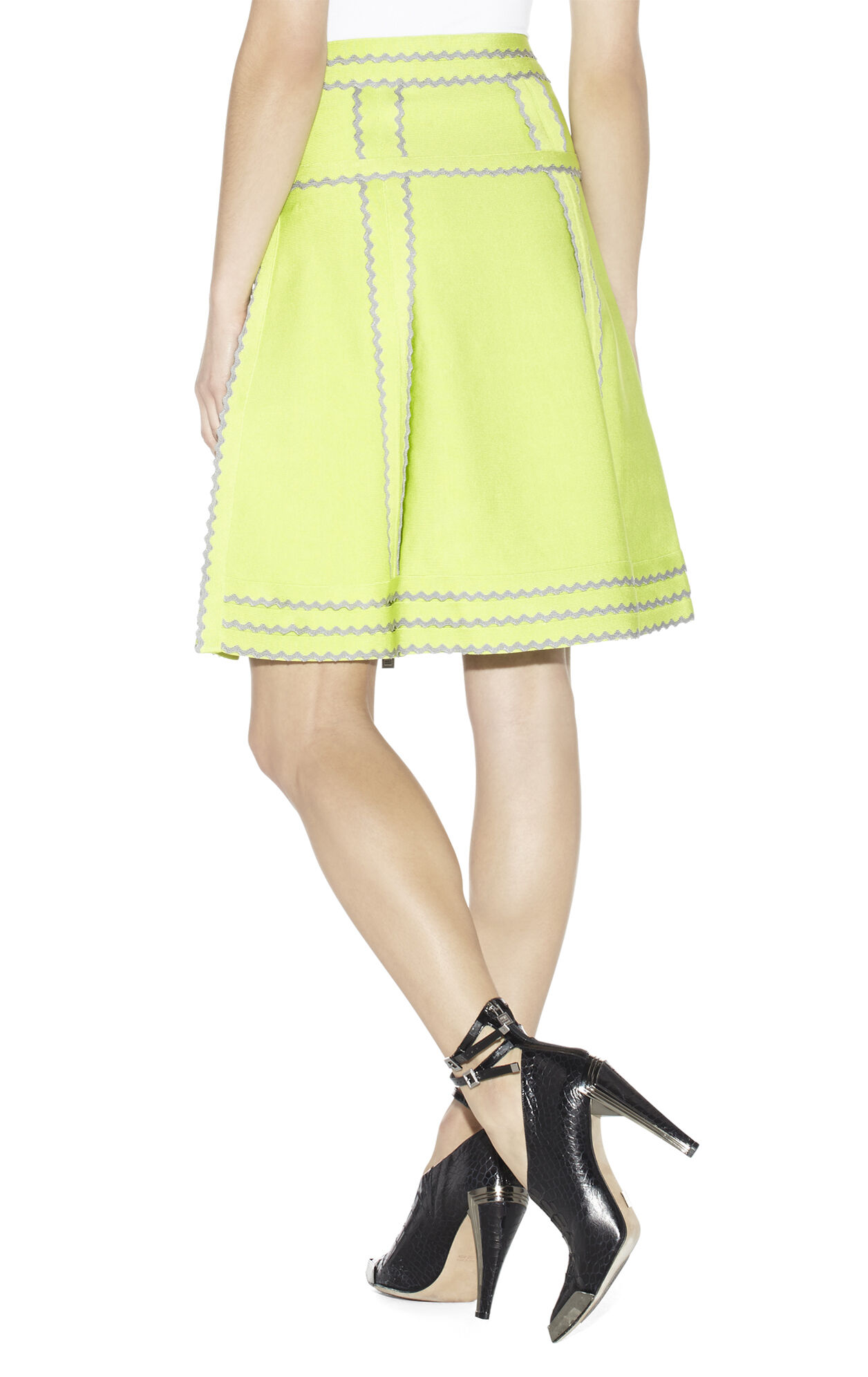 NIKITA TIPPED SCALLOPED SKIRT