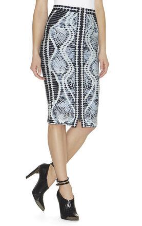 Tempes Crochet-Jacquard Skirt