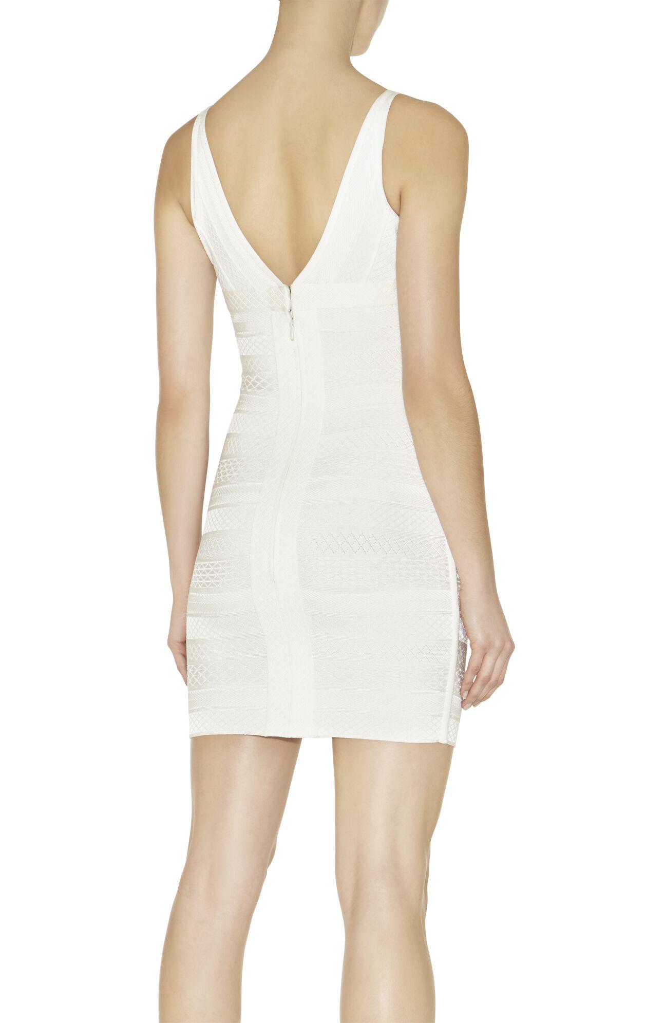Lauren Embossed-Texture Dress
