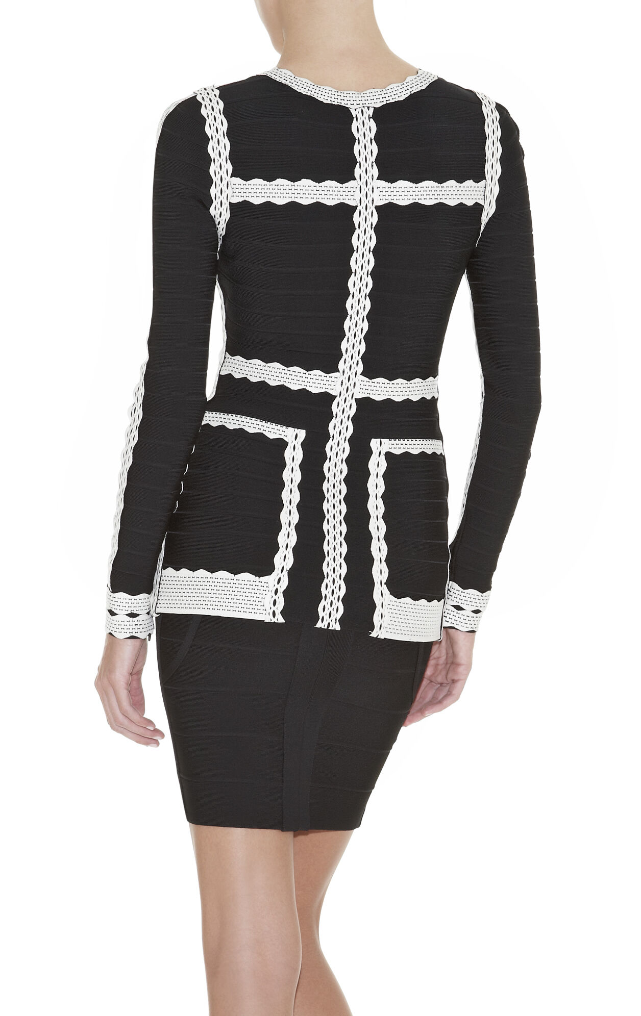 Georgina Textured Bandage Jacket