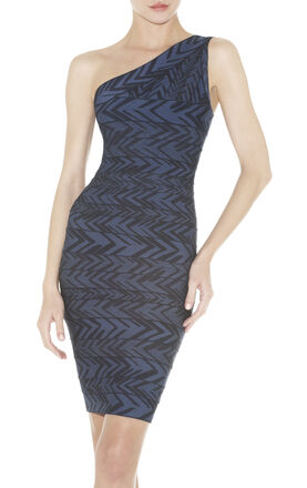 Paloma Jacquard Bandage Dress