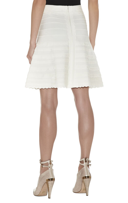 Vivia Scalloped Skirt