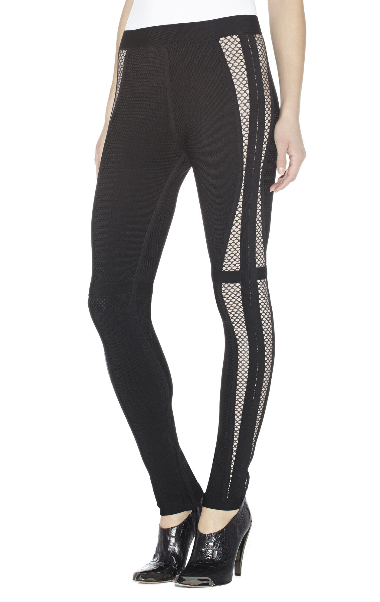 Elijah Multitexture Mesh-Blocked Pant