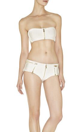 Sade Zipper-Detailed Bikini