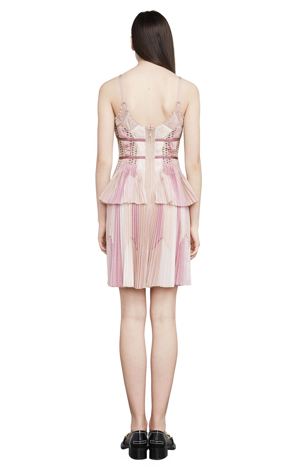 Alyse Color-Blocked Jacquard Bandage Dress