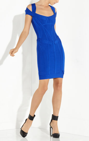 Lilliana Origami Folding Detail Dress