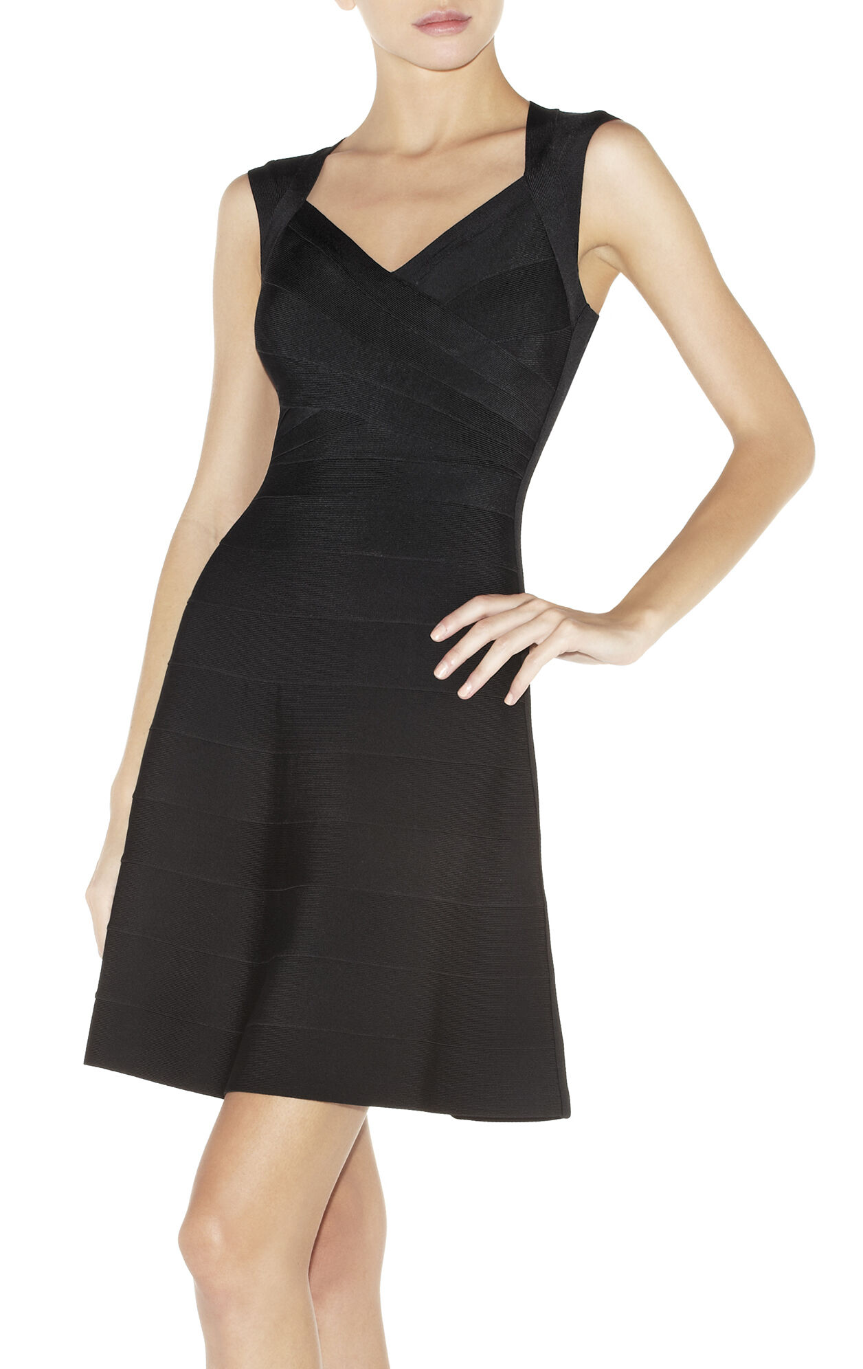 BRUNA A-LINE BANDAGE DRESS