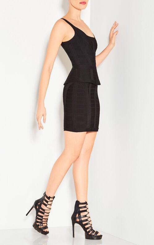 Yasmin Caging Detail Dress