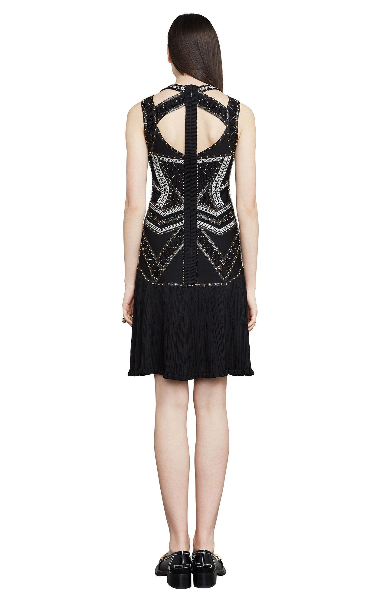 Alexia Eyelet Jacquard Bandage Dress