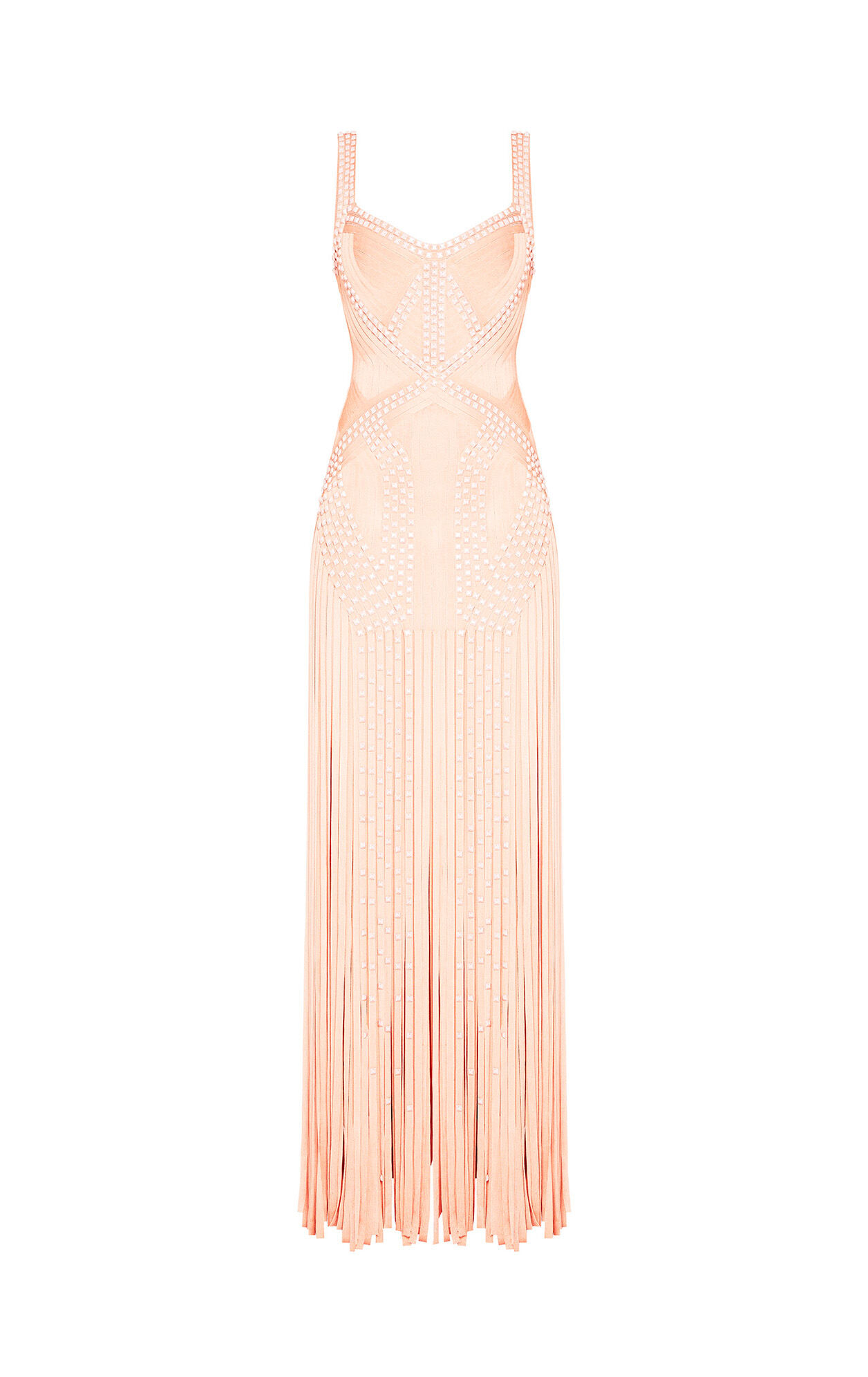 Vitoria Embellished Draped Bandage Dress
